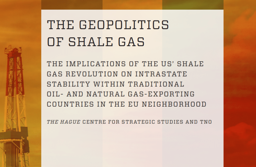 Shale Gas Geopolitics