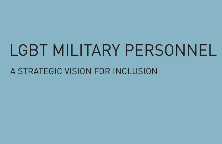 LGBT Military Inclusion