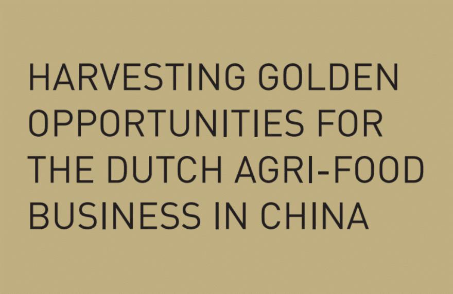 Dutch Agrifood China