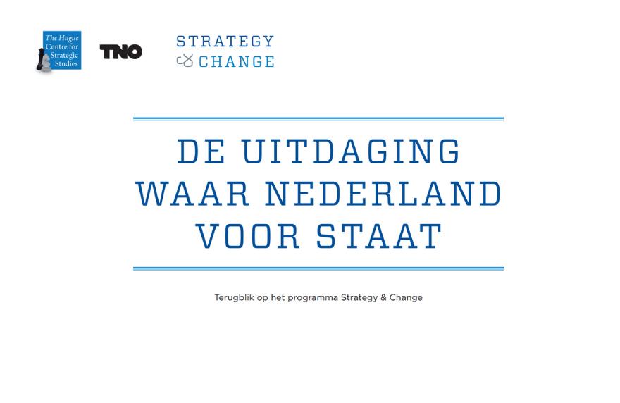 Uitdaging waar Nederland voor Staat