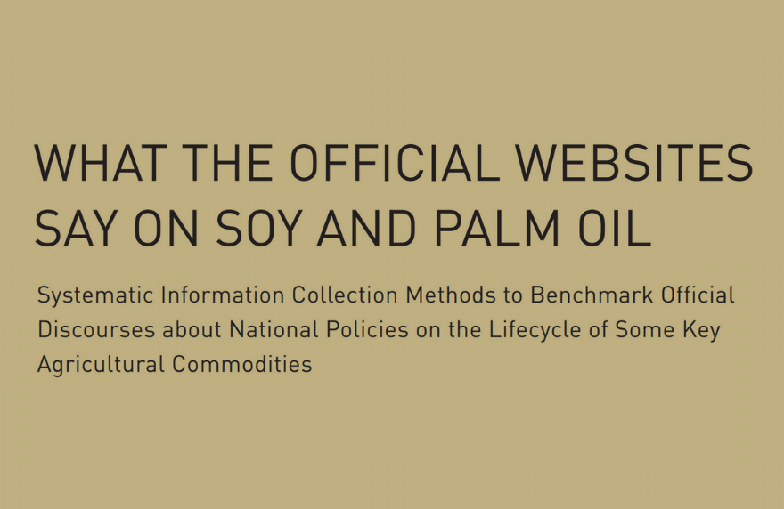 Soy and Palm Oil