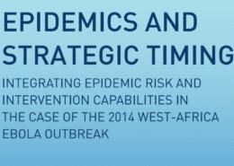 Epidemics and Strategic Timing
