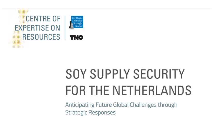 Soy Supply Security Netherlands