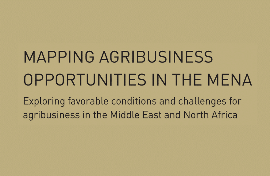 Mapping Agribusiness MENA