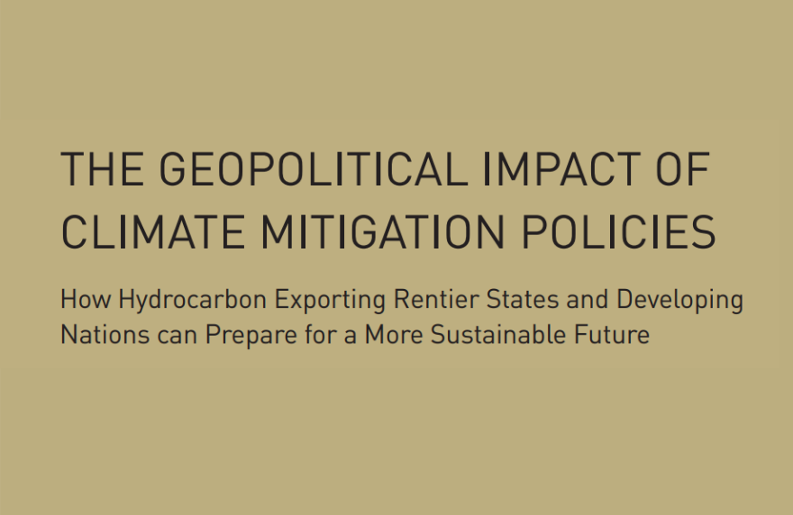 Gepolitical Impact Climate Policies FI