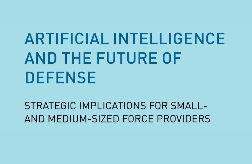 AI and the future of defense