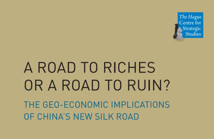 Geo-economic china silk road