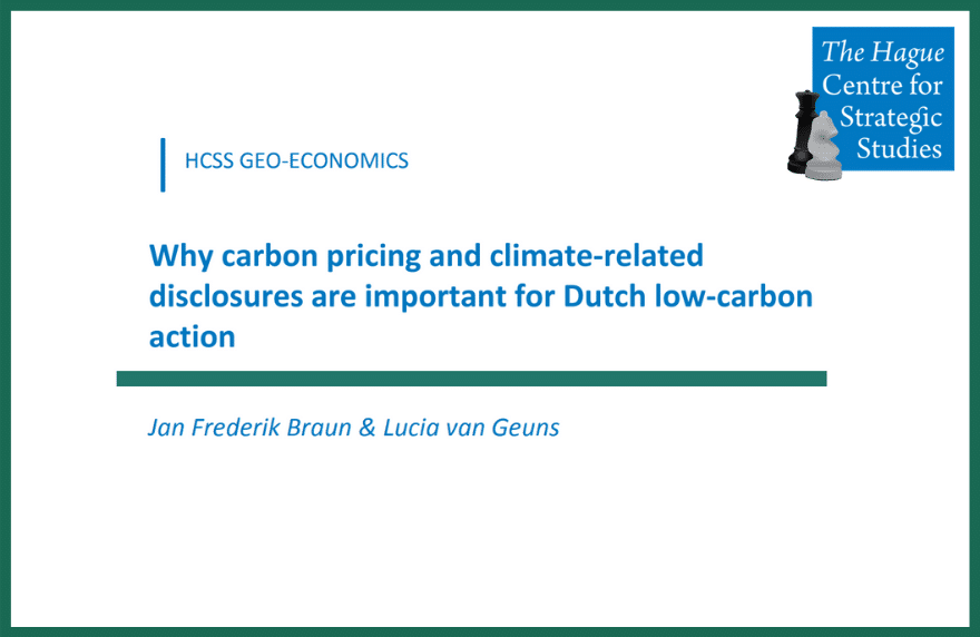 Carbon Pricing Dutch Action