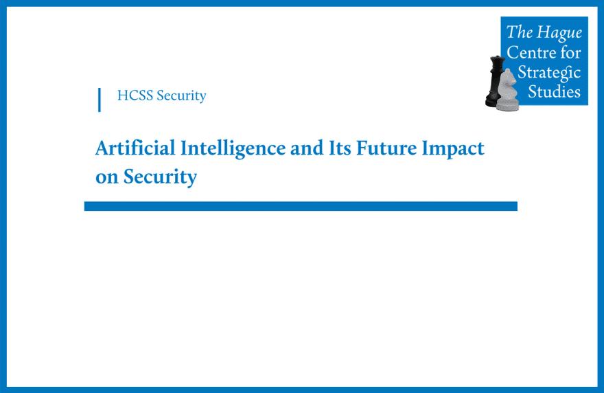 Tim Sweijs Testimony on AI and Future Impact