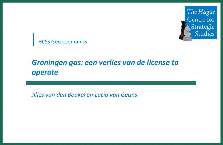 Groningen verlies license to operate