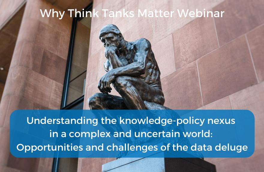Why Think Tanks Matter Seminar