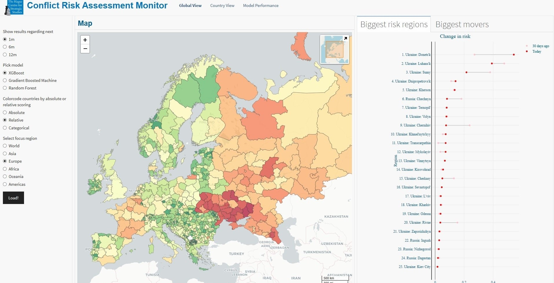 Conflict Risk Assessment Monitor 1