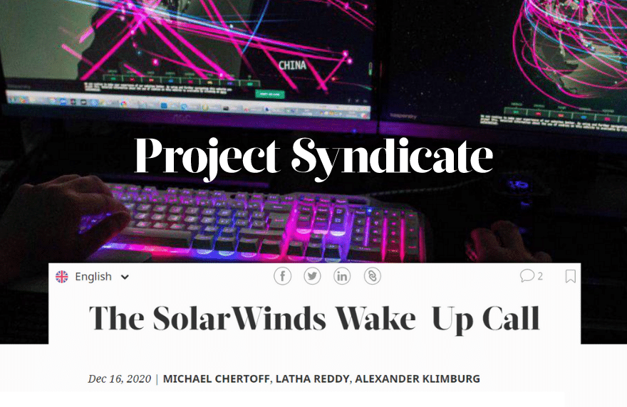 Solar Winds Alexander Klimburg